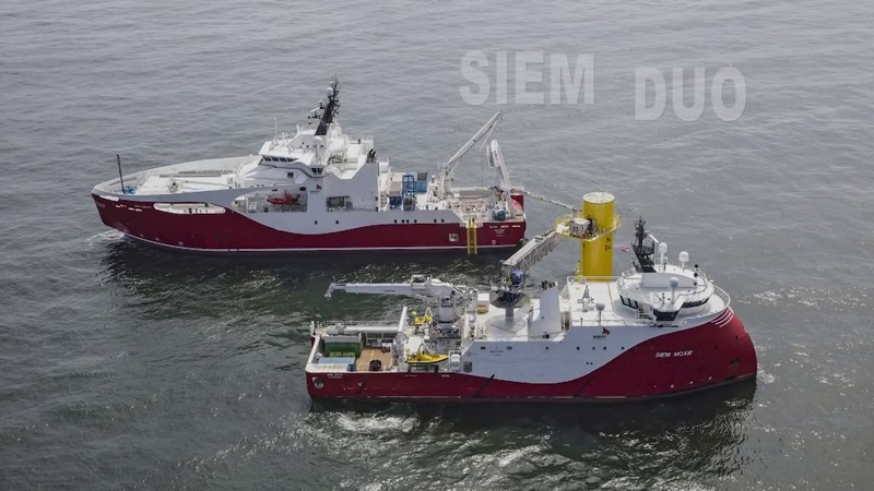 Submarine Cable Installation Works on Nordsee One OWF