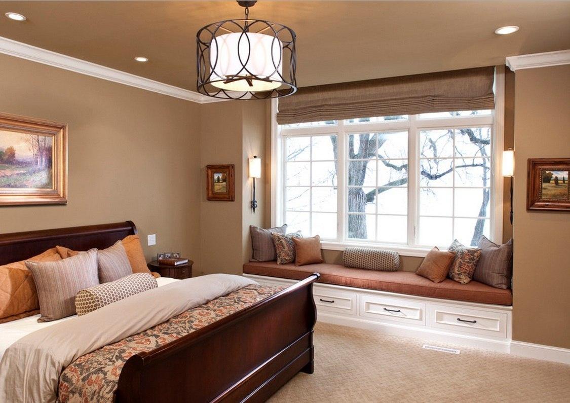 Большая спальня дизайн фото