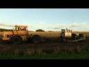 Битва тракторов, Кировец К-700 vs Гусеничный Т-100, кто кого