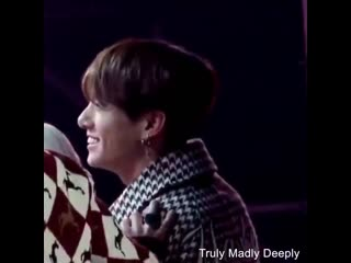 It only takes tae bare minimum for him to make jungkook smile that his eyes crinkles and s