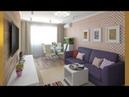Дизайн-проект двухкомнатной квартиры хрущевки 44 кв. м от Amira studio