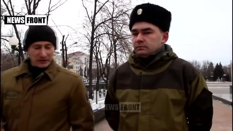 Запорожский казачий атаман про АТО на Донбассе