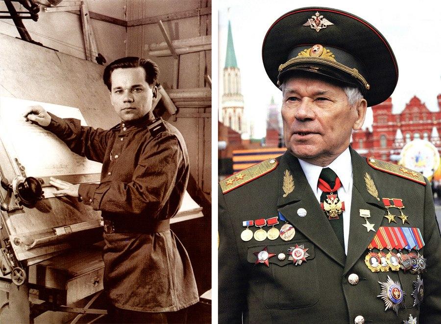 Поздравление с Днем рождения от Л.И.Калашникова М.Т.Калашникову