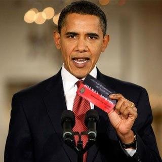 Обама і візитка Яроша