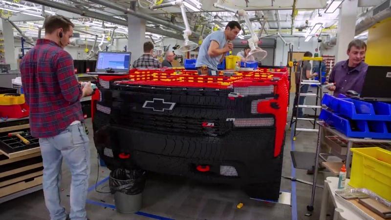 Full Size LEGO® Silverado Chevrolet
