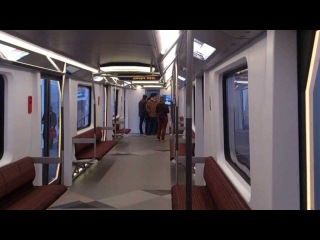 Метропоезд Siemens Inspiro для Москвы