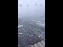 Видео обрушенного моста с вертолета