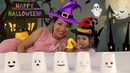 Ghost Finger Family Song 👻🎃🖐️ Halloween 2018 learn colors