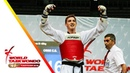 Taoyuan 2018 World Taekwondo GP Final male 80kg Cheick Sallah CISSE CIV vs Maksim KHRAMTCOV RUS