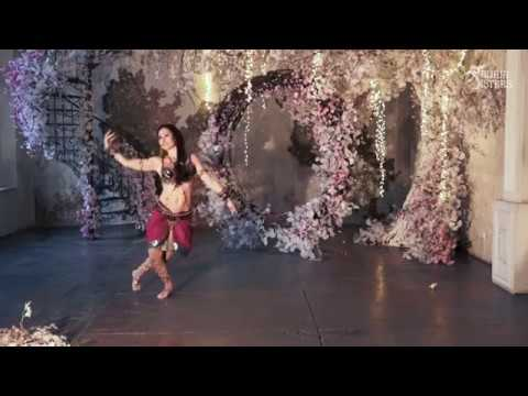 Shape of you. Ekaterina Roizen. Indian tribal-fusion. Carnatic mix. Sauria Spring Party-2019