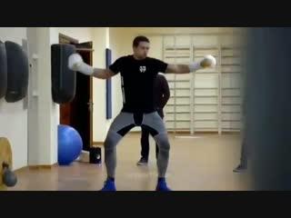 Когда ты не только хороший боксер, но и танцор. Александр Усик.