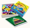 4). 1 Цветные счетные палочки Кюизенера С помощью цветных палочек детей легко подвести к осознанию отношений...