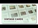 Vintage Cards Slideshow | AF Templates | videohive