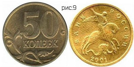 Редкие современные монеты России (каталог с ценами),
