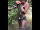 Catfish_catch_girl