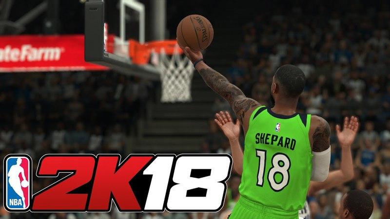 NBA 2K18 - Карьера игрока 17 [Клипперс. 2 матч]
