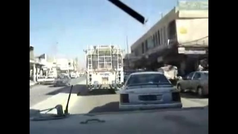[Ирак] американский военный Хаммер.