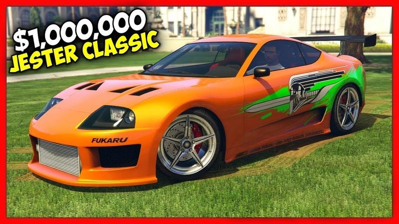 ТЮНИНГ TOYOTA SUPRA ИЗ ФОРСАЖА ЗА $1,000,000 В GTA 5 ONLINE! «ТАЧКА НА ПРОКАЧКУ»