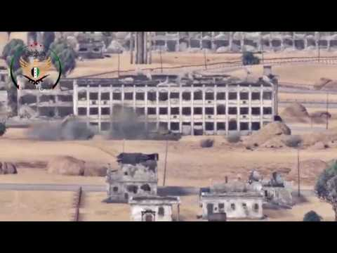 FSA destroys T-62 with TOW missile   WT