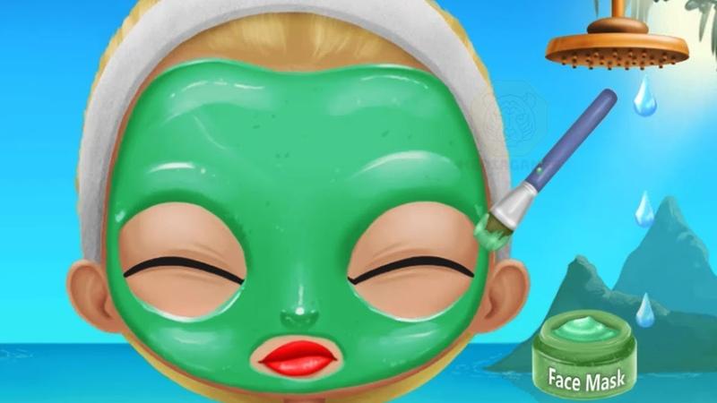 Fun Girl Care Kids Games BFF World Trip Hawaii Cool Tropic Girls Makeup And Dress Up Games