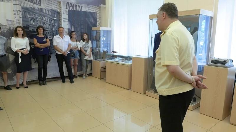 """Открытие выставки """"Быт и традиции моряков-подводников: Взгляд изнутри"""""""