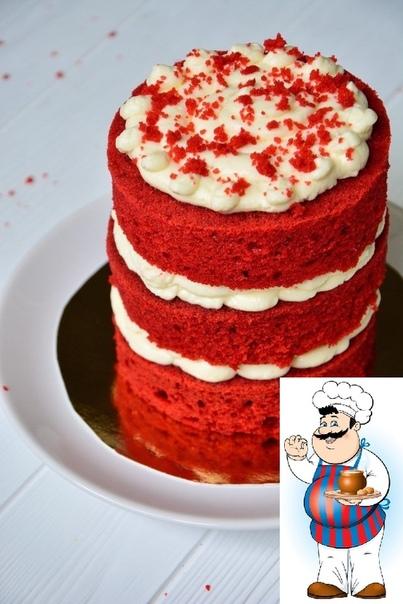 торт красный бархат главная особенность этого популярного десерта ярко-красные влажные коржи с легкой шоколадной ноткой, которые буквально тают во рту. торт можно покрыть кремом полностью или