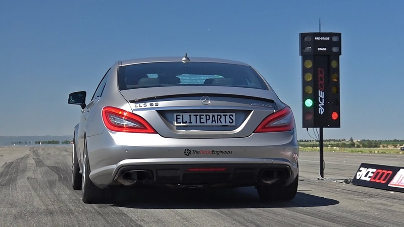 Mercedes-Benz CLS63 AMG TTE900 with CAPRISTO Exhaust - REVS ACCELERATIONS!