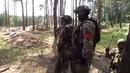 Захваченный лагерь боевиков под Красным Лиманом