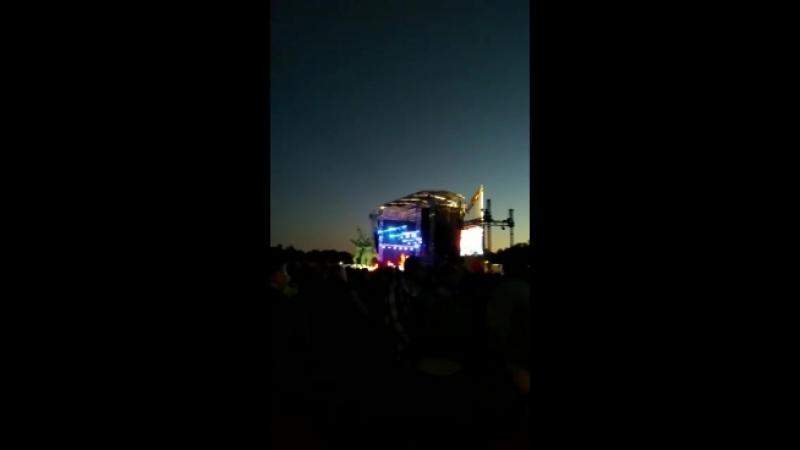 Концерт Г.Сукачева на день победы Рига 2018