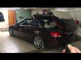 активация управления складным верхом с кнопок ДУ ключа BMW e93