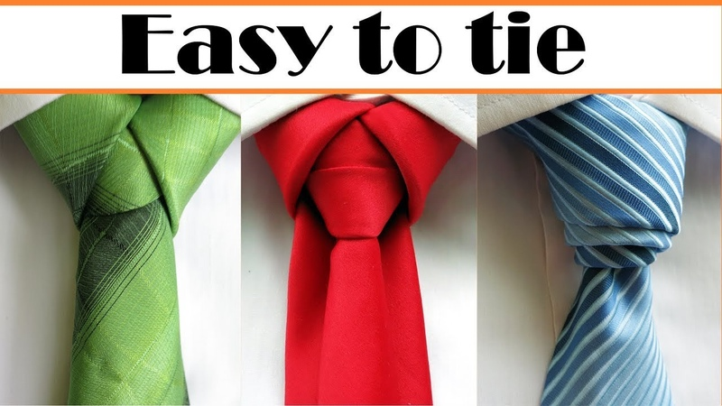 How to tie a tie 3 Cool Necktie knots what will surprise your friends