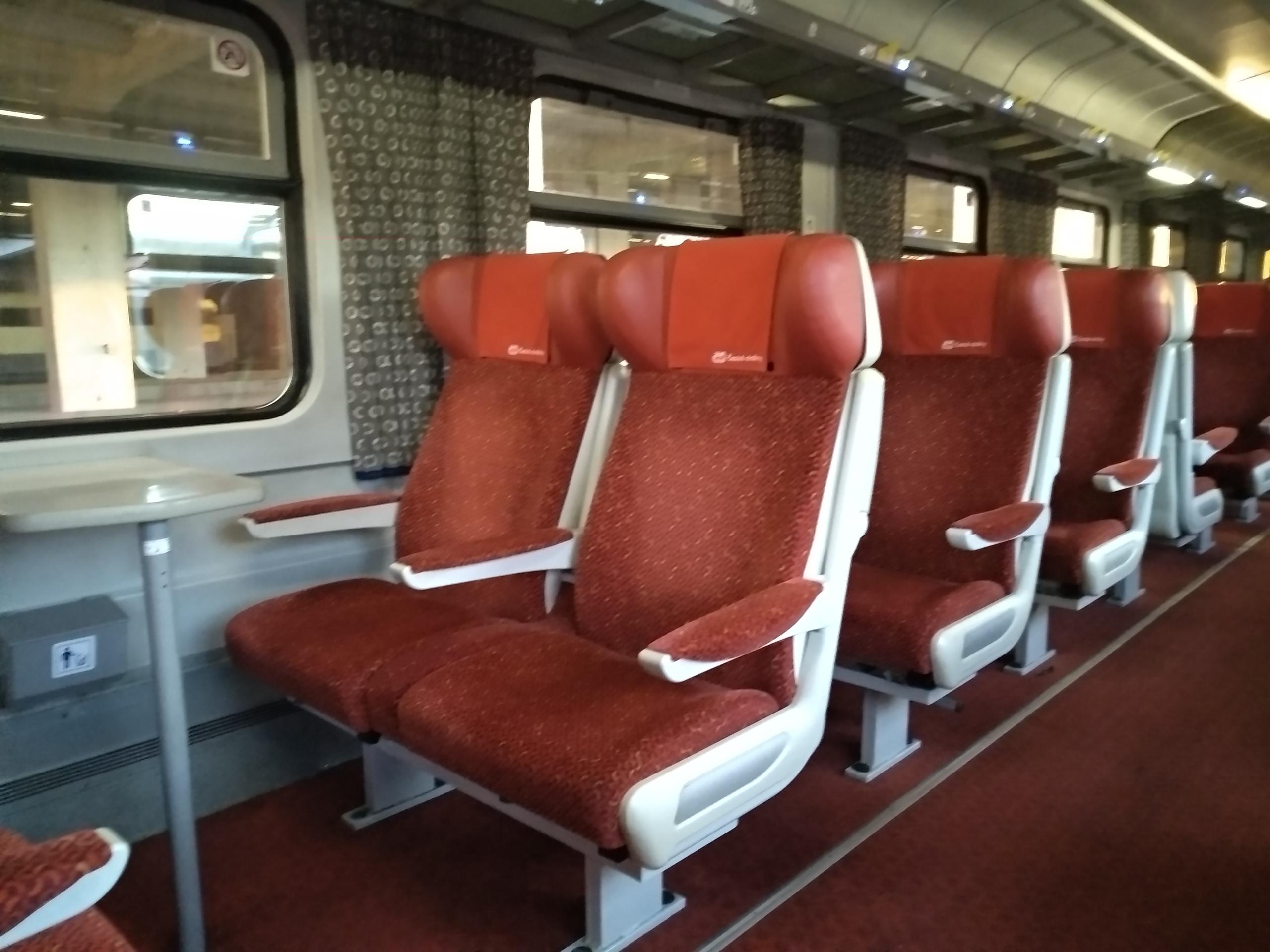 Первым классом в чешских поездах: есть ли смысл?