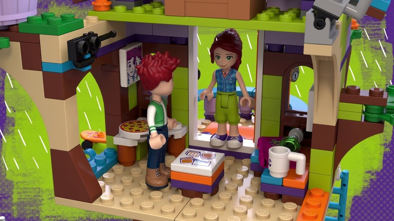 Конструктор LEGO Friends 41335 Домик Мии на дереве