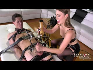 [femdomempire.com] jill kassidy - no choice orgasm (24.04.2019) [femdom, handjob, milking, facesitting, stockings, bondage]