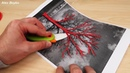 3D РУЧКА! Рисую дерево!