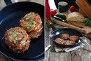 Картофель а-ля драники с розмарином