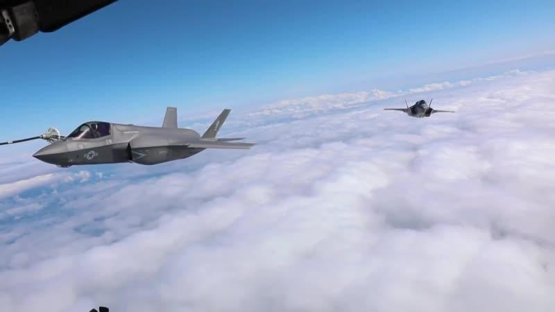 Lightning, Hercules Meet Above the East China Sea (B-Roll) SOUTH CHINA SEA 23.10.2018
