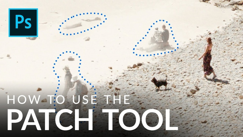 Remove Objects with the Patch Tool in Photoshop [Complete Guide]