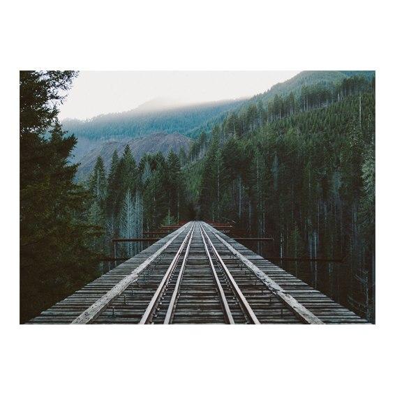 дерев'яний міст залізна дорога
