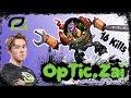 OpTic Zai - Timbersaw Offlane High MMR Gameplay Dota 2