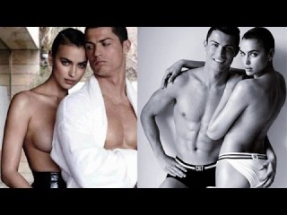 Cristiano Ronaldo and Irina Shayk naked photo shoot