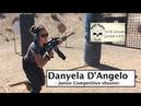Danyela D'Angelo USPSA pistol Rifle Junior Competition shooter