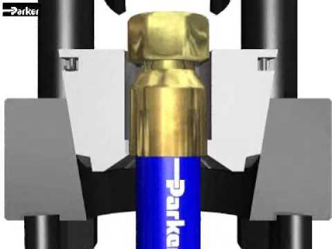 Моторы и Трансмиссия Parker Оборудование для производства РВД