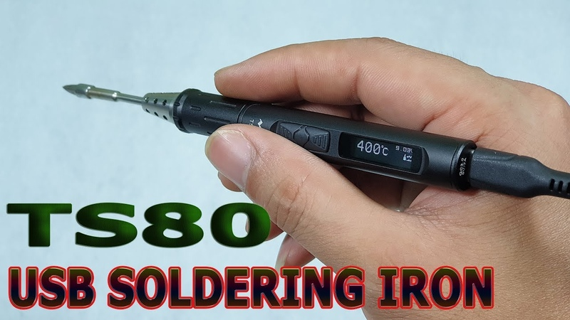 Test MINI TS80 USB C Soldering Iron