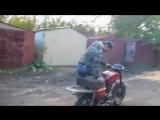 Мопед верховина 7 против мотоцикла Восход 3м