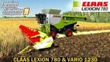 Farming Simulator 19 CLAAS LEXION 780 &amp VARIO 1230