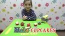 Капкейки из пластилина своими руками / Make cupcakes