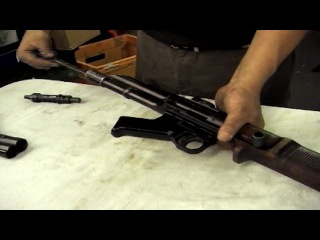 FG42 Type I replica features, operation, disassembly and reassembly