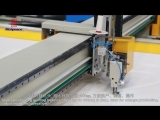 2-Bridge Single Head Automatic Quilting Machine, Double the efficiency!
