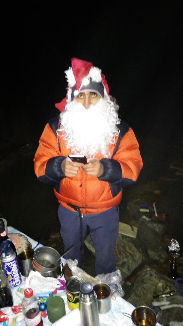 Новый год на горячих источниках Кармадона. Автор - гид группы Кардашев Багдан